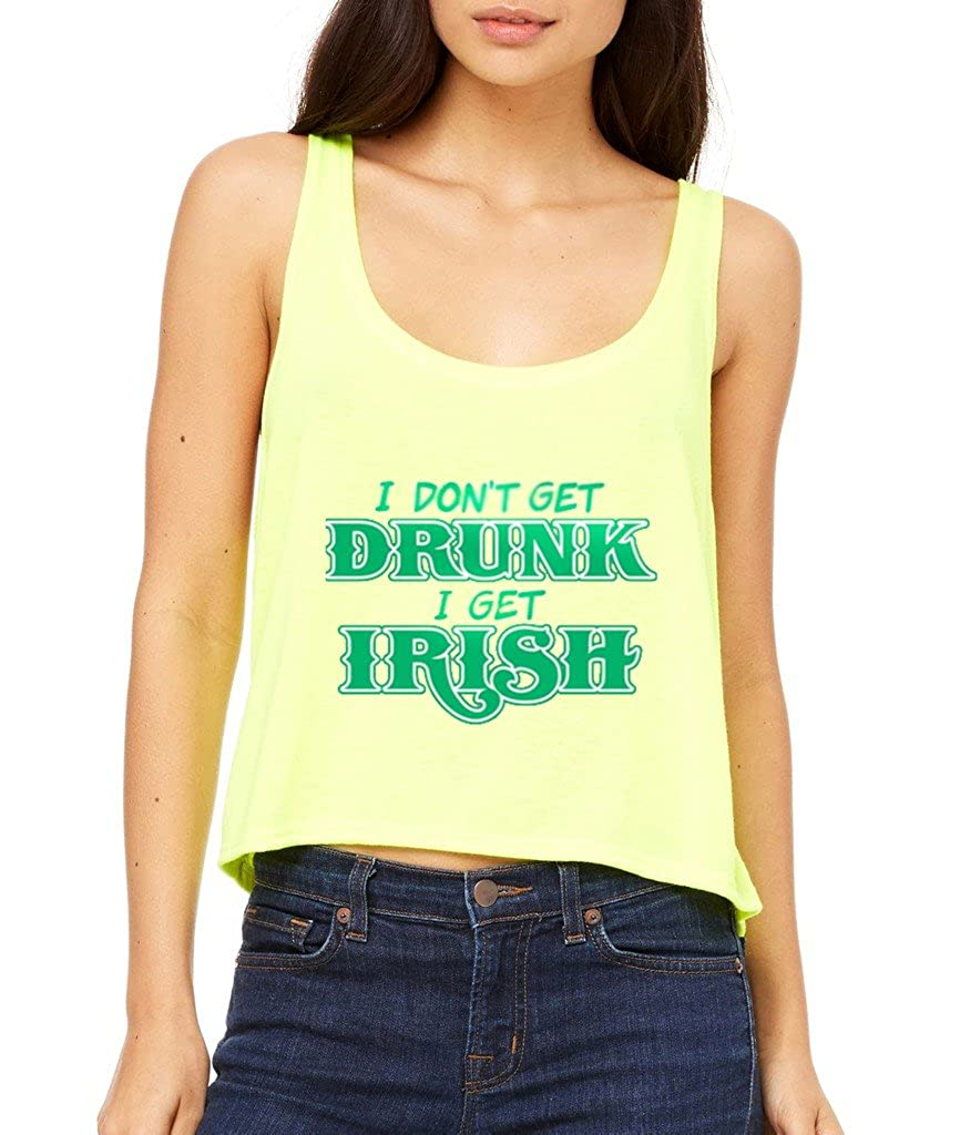 ba171697b I Don't Get Drunk I Get Awesome Irish Boxy Tank Top St. Patricks Irish Day  Flowy Shirt Small Neon Yellow i12: Amazon.ca: Clothing & Accessories