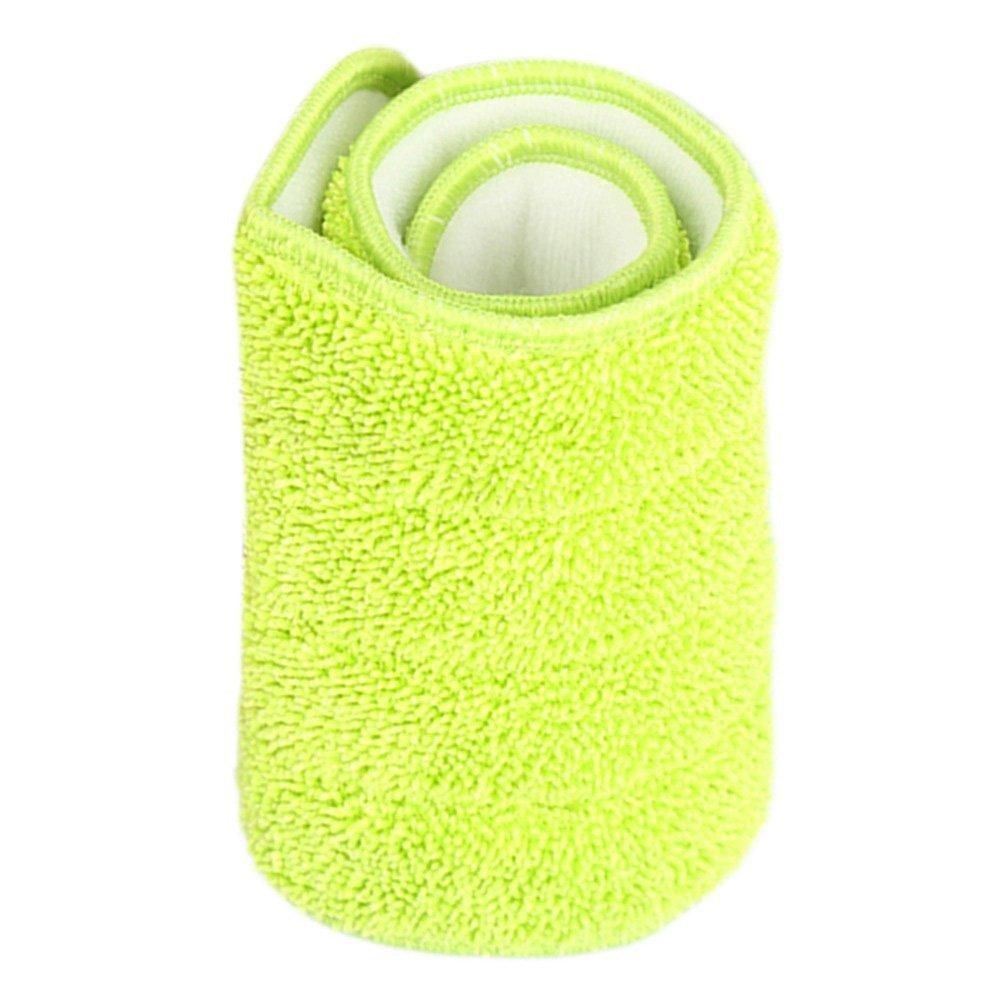FomCcu 3Pcs Replacement Microfiber Washable Mophead Fit Flat Spray Mops Household Cleaning Tools