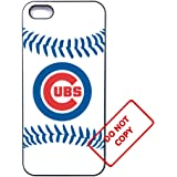10 kinds Baseball team, cubs iphone 5 case, 10 kinds Baseball team, cubs iphone 5s case, SE case, soft rubber case [black]