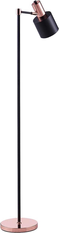 Versanora – Monopiede Monopod Floor Lamps – Black Rose Gold