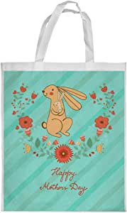 happy mothers day Printed Shopping bag, Small Size