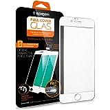 【Spigen】 iPhone6s Plus ガラス フィルム / iPhone6 Plus ガラス フィルム, フルカバー グラス [ 3D Touch 全面液晶保護 9H硬度 發油加工 ] アイフォン6s プラス / 6 プラス 用 (ホワイト SGP11635)