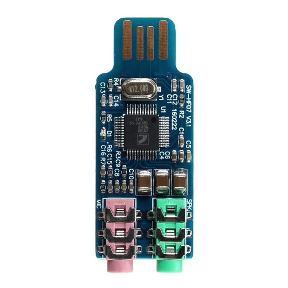 Landa tianrui Unidad Libre LDTR-DM39 Tarjeta de Sonido USB ...