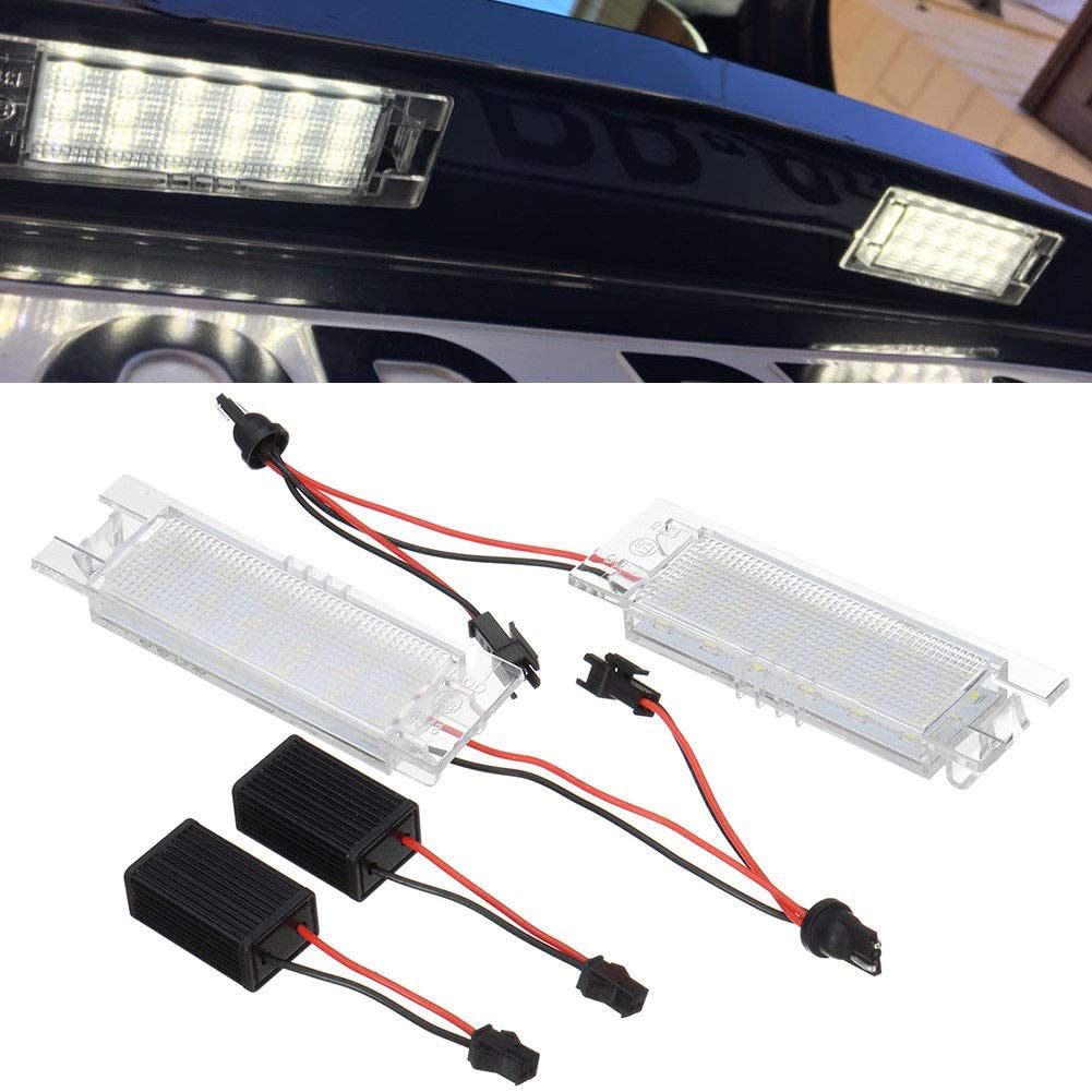 Alician for Alfa Romeo 147 156 159 166 Giulietta Mito GT Spider MiTo Led License Lights
