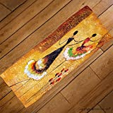 VROSELV Custom Towel Soft and Comfortable Beach Towel-oil painting spanish dance Design Hand Towel Bath Towels For Home Outdoor Travel Use 27.6''x13.8''