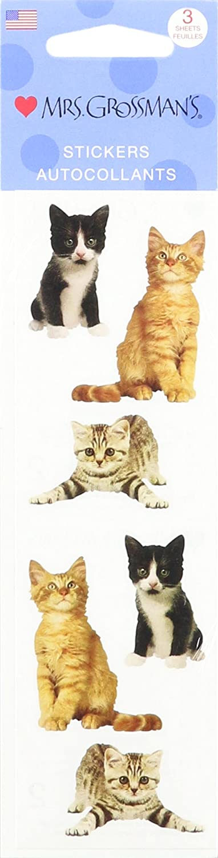 Mrs Grossman Stickers-Adorable Kittens