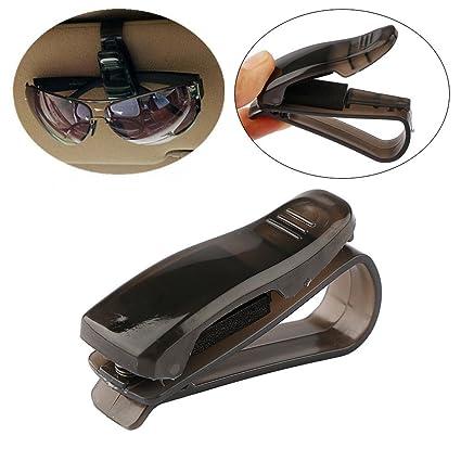 OneMoreT - Soporte de clip para gafas de sol y accesorios para coche