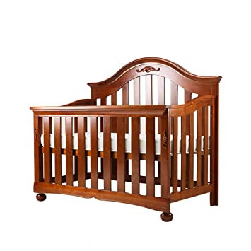 DUWEN-Lit bébé Lit en Bois Massif Multifonctionnel Lit bébé Lit ...