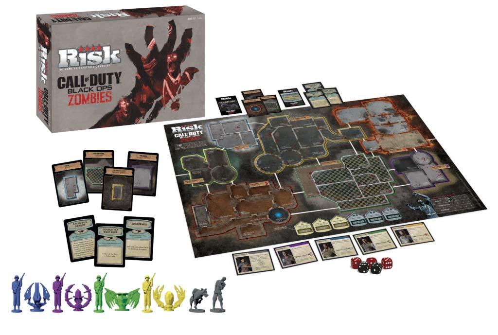 Amazon.com: Risk Call of Duty Zombies Edition - Juego de ...