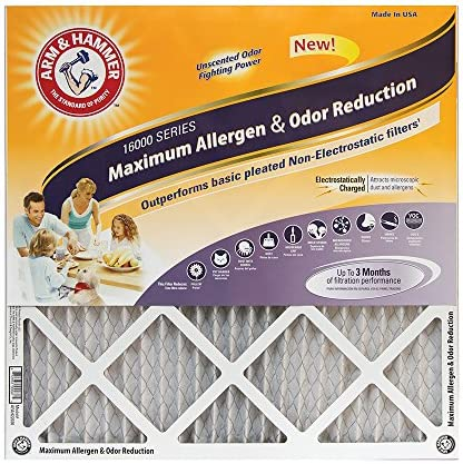 Arm Hammer Allergen Reduction 20x25x1