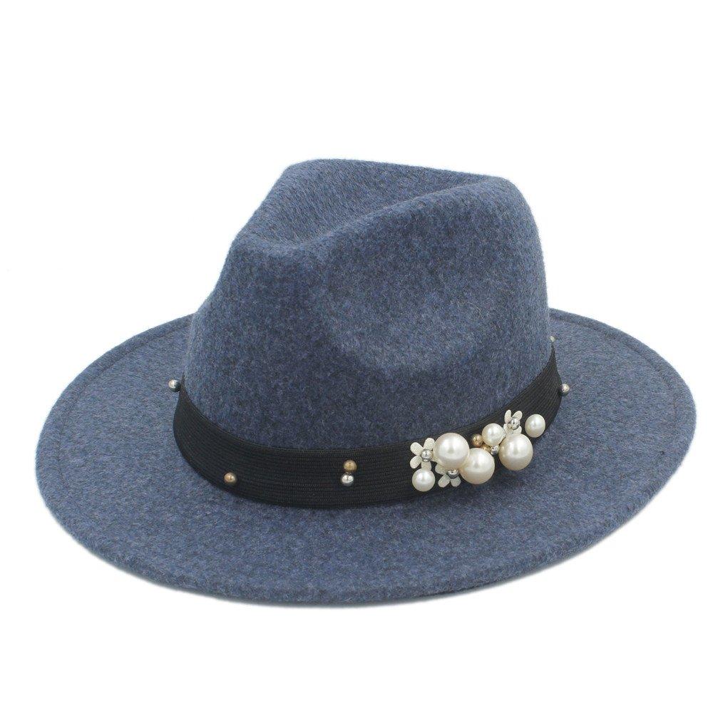 ZLF Der Herbst-Fedora-Hut der Frauen Winter der Männer für eleganten Laday Jazz-Hut für Gentleman-Zylinder B07PP7J5PK Hüte & Kopfbedeckungen für Erwachsene Ausgewählte Materialien | Auktion