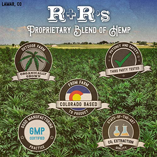 Hemp Oil 1000mg :: Hemp Oil for Pain :: Stress Relief, Mood Support, Healthy Sleep Patterns, Skin Care (1000mg, 36mg per Serving x 28 Servings) : R+R Medicinals by R+R Medicinals (Image #5)