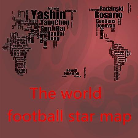 Ytj english alphabet football star edition 112 188 cm creative english alphabet football star edition 112 188 cm creative world map wall stickers gumiabroncs Images