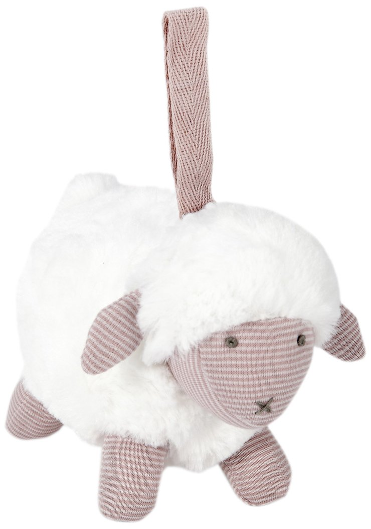 Mamas & Papas Welcome To The World Chime Sheep Soft Toy, Pink, Baby/Infant Toy 485535008