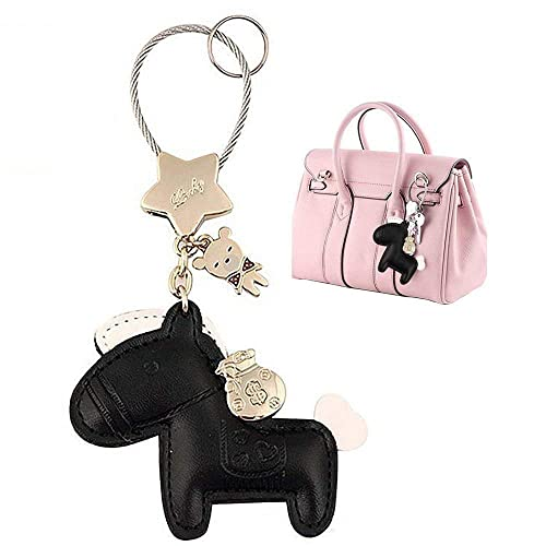 Amazon.com  MILESI Cute Horse Keychain (Key Chain) Organizer 18692a65a3