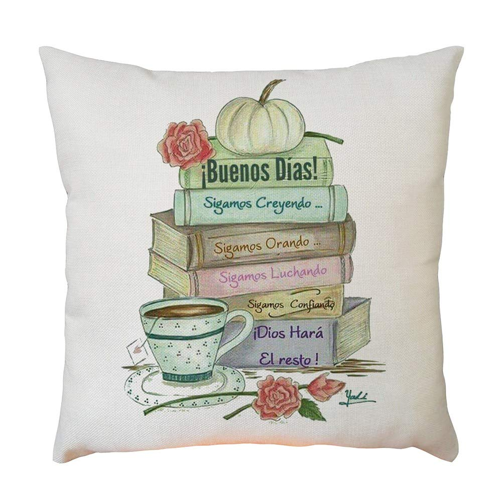 Amazon.com: Home Decor Pillow case,Square Size 45 x 45cm ...