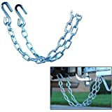 CE Smith Trailer 16661A Class II Rating Safety Chain Set, 3500 lb- Replacement Parts and Accessories for your Ski Boat, Fishing Boat or Sailboat Trailer