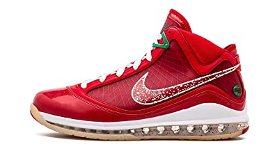 on sale 6d5a6 06993 Image Unavailable. Image not available for. Color  NIKE Lebron 7 Xmas Sample  ...