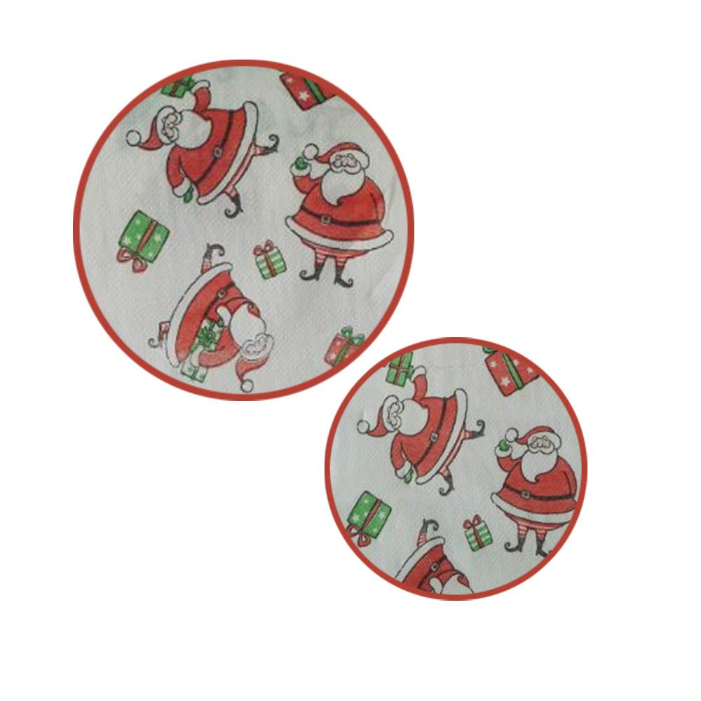 Sinwo Christmas Pattern Roll Paper Print Interesting Toilet Paper Table Kitchen Paper Christmas Decor (A) by Sinwo (Image #5)