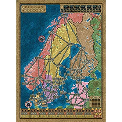 Power Grid:Northern Europe/UK & Ireland Recharged: Toys & Games