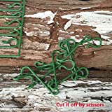 Amazoncom 300 Count Holiday Ornament Hooks Green Home  Kitchen