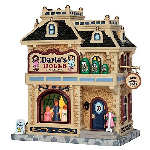 Darla's Dolls - Village Lemax Houses