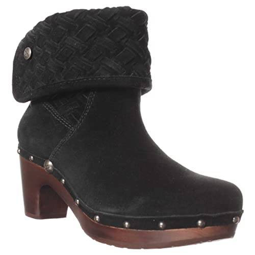 49f6bd940df Amazon.com | UGG Australia Women's Lynnea Arroyo Weave Boots, Black ...
