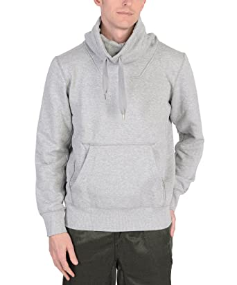 Adidas Mens Funnel Collar Hoodie Grey at Amazon Men's Clothing store: