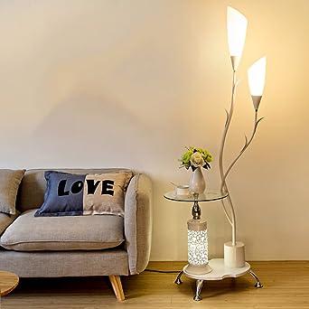 Lampe Sur Pied Salon Table Basse Simple Chambre Moderne