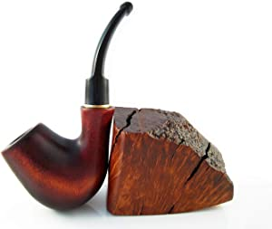 "Brand New - ""Sherlock Holmes"" Tobacco Smoking Pipe of Pear Bent 5'' Carving Handmade."