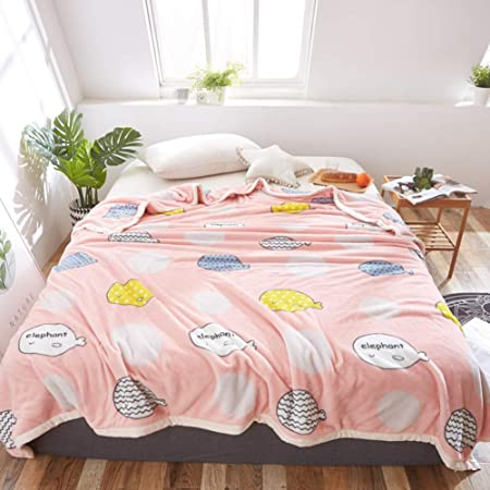 Sábanas encimeras Cartoon, Sábana de algodón Anime Invierno Engrosamiento Dormitorio Estudiante Franela Manta pequeña Niños Sábana Bajera 1 pc-rosadoA 135x200cm(53x79inch): Amazon.es: Hogar
