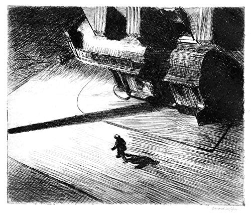 Edward Hopper Night Shadows 1921 Private Collection 30