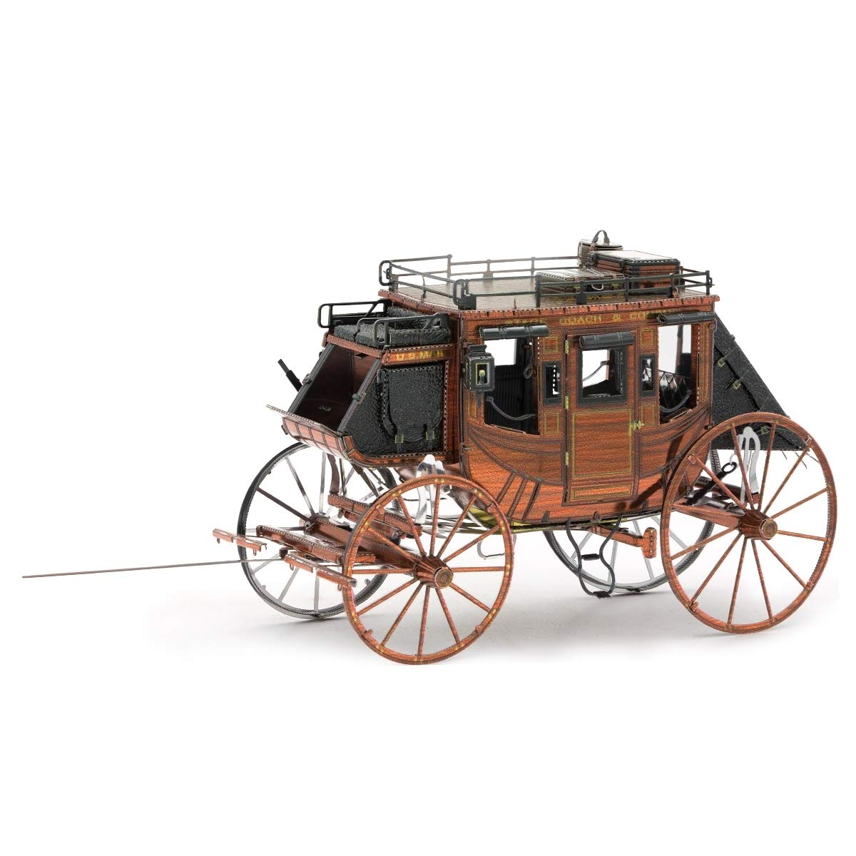 Fascinations Metal Earth Wild West Stagecoach 3D Metal Model Kit by Fascinations
