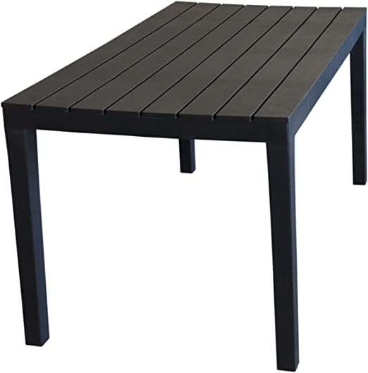 Table de camping \'Sumatra\' Table Plateau imitation bois ...