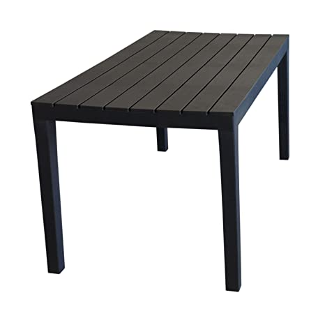 Table de camping \'Sumatra\' Table Plateau imitation bois plastique ...