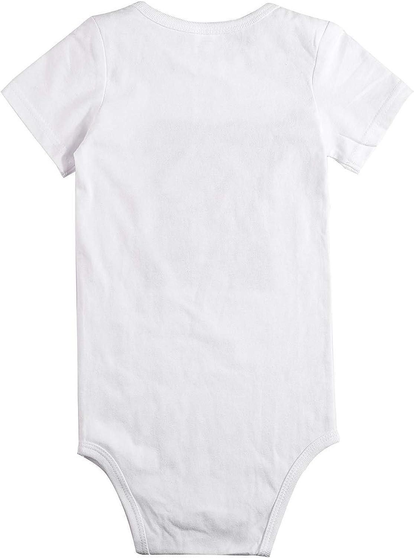 WlQshop Little Peanut Newborn Baby Boys Girls Cute Short-Sleeve Bodysuit Romper Outfits
