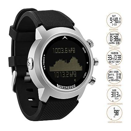 North Edge Reloj Deportivo de Buceo Digital para Hombres con Pantalla táctil/100M Impermeable/