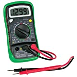 "Velleman DVM850BL-VP Digital Multimeter with Backlight and Protective Holster, 3-1/2 Digit, 5.4"" H x 2.7"" W x 1.2"" D"