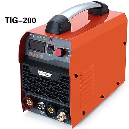 Resina Star 200 Amp TIG Arc MMA IGBT DC sudor dispositivo Stock ...