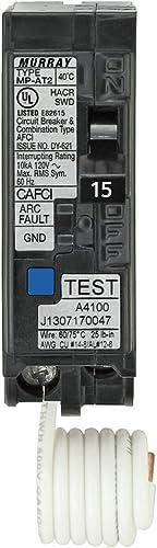 Murray MPA115AFCP 15-Amp Single Pole 120-volt Plug-On Combination AFCI Breaker