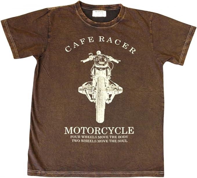camiseta motero cafe racer