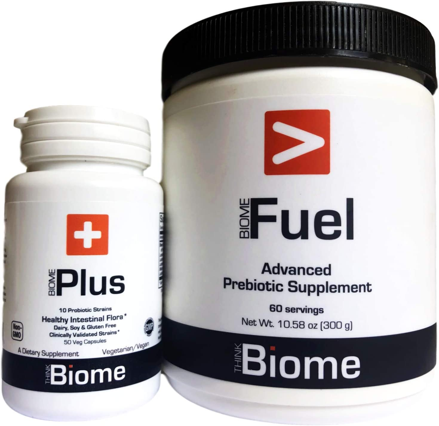 Synbiotic Fuel: Premium Prebiotic and Probiotic Combination for Microbiome Support