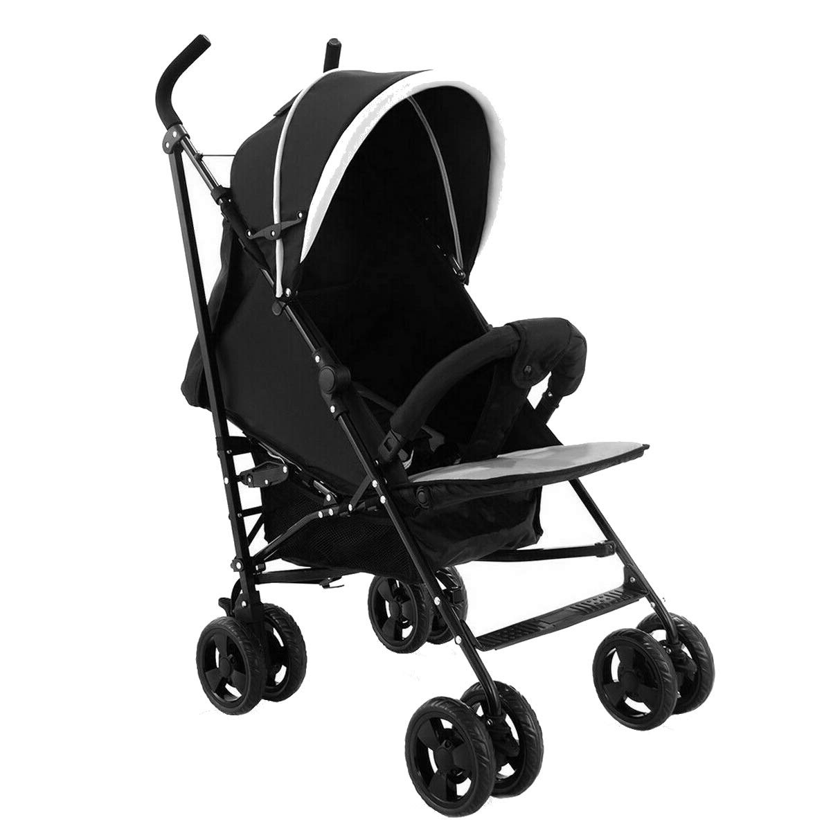 Kids Jogger Foldable Baby Stroller Buggy Travel Infant Pushchair Lightweight Eco-Friendly Material