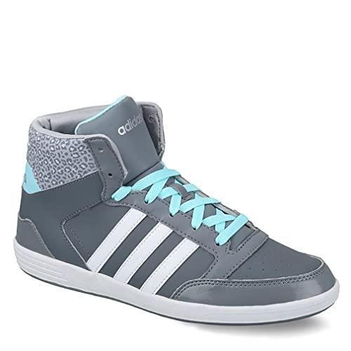 e0251674 adidas New Womens High top Casual Mid Basketball Trainer Gym Lace up ...