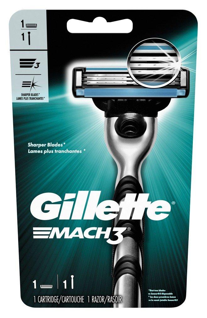 Gillette Mens Mach 3 Razor (6 Pack)