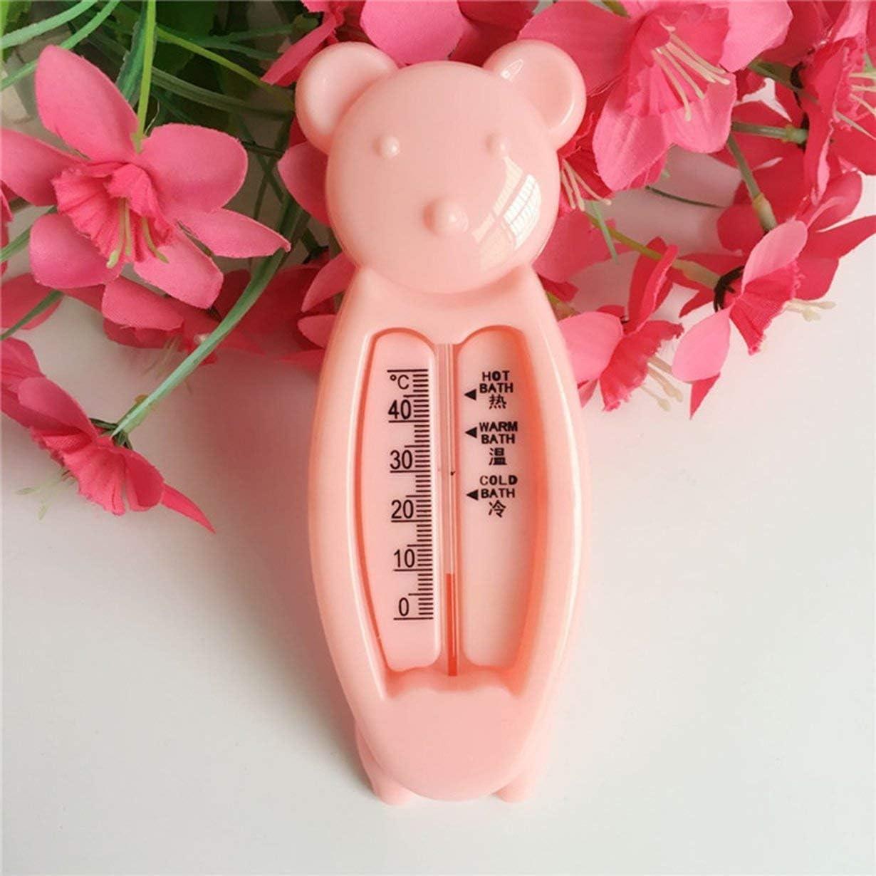 camellia/® Thermom/ètres /à Eau pour b/éb/és Jouets intelligents en Forme dours Jouets de baignade pour b/éb/és pour Enfants Enfants Thermom/ètre de Bain Acurate Temperature Teller Rose