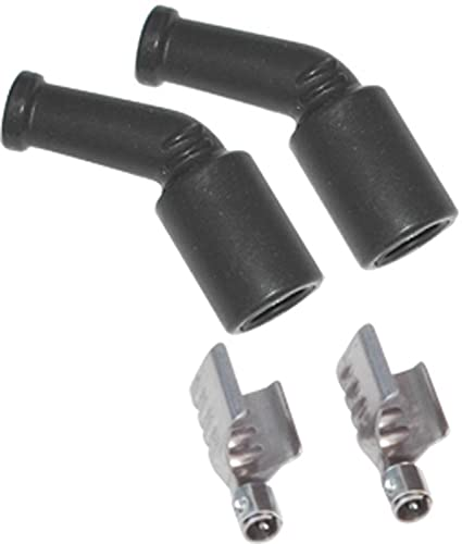 amazon com msd 3304 spark plug wire boot and terminal set of 2 rh amazon com Terminal Connectors Types Electrical Terminal Connections