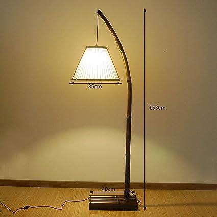 Tinsinss Lámpara de Pesca Original Hecha a Mano de bambú ...