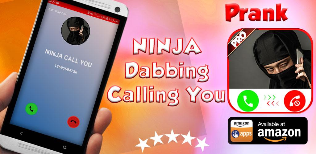 Incoming Voice Call From Ninja - Free Fake Phone Calls ID ...