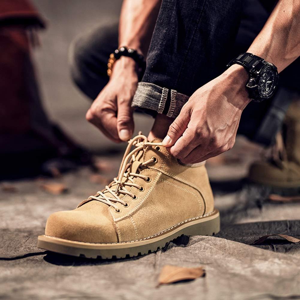 QIDI Martin Stiefel Männer Wüste Retro Eben Spitze Stiefelies (größe    (größe US8 EU39 UK6) 44fdbf